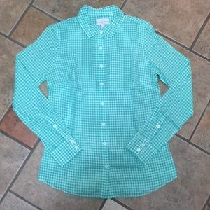 J.Crew Gingham Perfect Shirt